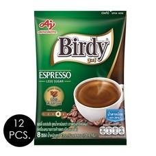 เบอร์ดี้ 3in1 เอสเปรสโซ 13.2 กรัม (8 ซอง/ถุง) แพ็ก 12 ถุง