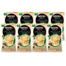 เนสกาแฟโกลด์คาเฟ่โอเลท์ กาแฟสำเร็จรูปชนิดผงสูตรเข้มกลมกล่อม 51.3 กรัม (3 ซอง/ถุง) จำนวน 8 ถุง