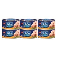 ซีเล็คทูน่าสเต็กในน้ำมันรำข้าว 80 กรัม แพ็ค 6