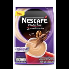 เนสกาแฟเบลนแอนด์บรู 3in1 สูตรน้ำตาลน้อย แพ็ก 27 ซอง