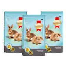 อาหารกระต่าย ผักและธัญพืช 200 ก. (แพ็ก3)