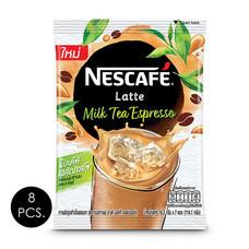 เนสกาแฟ ลาเต้ครีเอชั่นมิลค์ทีเอสเปรสโซ 16.3 กรัม (7ซอง/ถุง) แพ็ก 8 ถุง