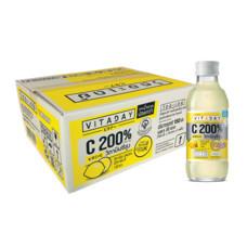 วิดอะเดย์ น้ำรสเลมอนผสมวิตามินซี 150 มิลลิลิตร (ยกลัง 30 ขวด)
