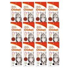 ขนมแมวจินนี่ สติ๊ก รสไก่ 35ก. (1แพ็ก 12 ชิ้น)