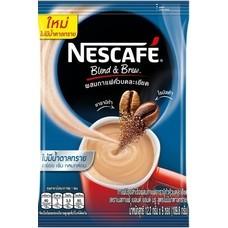 เนสกาแฟ3in1 เบลนด์แอนด์บรู สูตรไม่มีน้ำตาล แพ็ก9