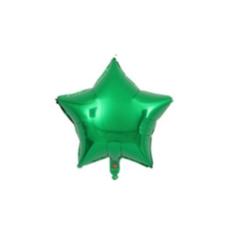 ลูกโป่งฟรอยลายดาวขนาด 45 ซม.เขียว