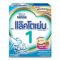 เนสท์เล่แล็คโตเย่น นมผงสูตร 1 สำหรับทารกวัยแรกเกิดขึ้นไป 600 ก.