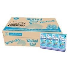 ดัชมิลล์ นมเปรี้ยว UHT รสบลูฮาวาย 180 มล. (ยกลัง 48 กล่อง)