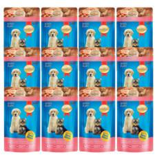 สมาร์ทฮาร์ท อาหารเปียกลูกสุนัขเนื้อไก่ 130 กรัม 12 ซอง