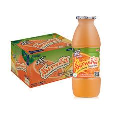 ดีโด้ น้ำส้มสายน้ำผึ้ง 20% 150 มล. (ยกลัง 16 แพ็ก)