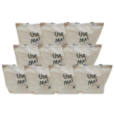 ถุงผ้า Size M แพ็ก 10 ใบ