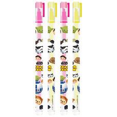 ปากกาไฮไลท์ Tsum Tsum Star Wars คละแบบ 1 แพ็ก 4 ชิ้น