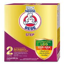 เนสท์เล่ตราหมีเบบี้ นมผงสูตร 2 สำหรับทารกและเด็กเล็ก อายุ 6 เดือนขึ้นไป 600 ก.