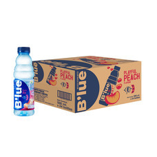 น้ำดื่มบลูพีช 500 มิลลิลิตร (ขายยกลัง 24 ขวด)