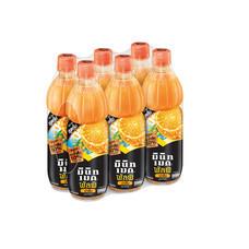 มินิดเมด พัลพิ น้ำส้ม 800 มล. (แพ็ก 6 ขวด)