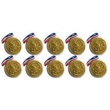ทวินช็อก ช็อกโกแลตเมดอลเหรียญทอง 20 กรัม ( แพ็ก 10 )