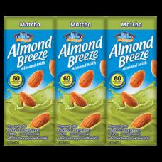อัลมอนด์บรีซ นมUHT ชาเขียว 180 มิลลิลิตร แพ็ก 3