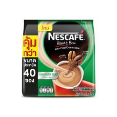 เนสกาแฟปรุงสำเร็จชนิดผง 3in1 เบลนด์แอนด์บรู เอสเปรสโซ่ แพ็ค 40 ซอง