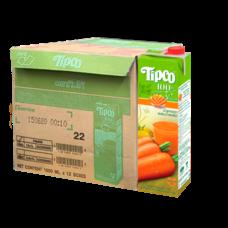 ทิปโก้ น้ำแครอทผสมน้ำผลไม้ 100% 1000 มล. (ยกลัง 12 กล่อง)