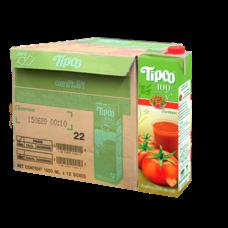 ทิปโก้ น้ำมะเขือเทศ 1000 มล. (ยกลัง 12 กล่อง)