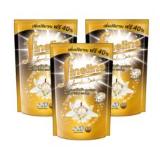 น้ำยาซักผ้าไฟน์ไลน์ดีลักซ์เพอร์ฟูม ดำ 600 มล. 1 แพ็ก (3 ถุง)