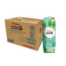 มาลีโคโค่ น้ำมะพร้าว100% (ยกลัง 12 ขวด)