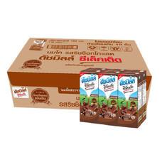 ดัชมิลค์ซีเลคเต็ด นมUHT รสริชช็อกโกแลต 225 มิลลิลิตร (ขายยกลัง 36 กล่อง)