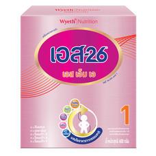 เอส26เอสเอ็มเอ นมผงสูตร 1 สำหรับทารกวัยแรกเกิดขึ้นไป 600 ก.