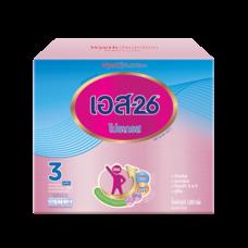 เอส26โปรเกรส นมผงสูตร 3 รสจืด สำหรับเด็กอายุ 1 ปีขึ้นไป 1,800 ก.