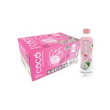 อีฟโคโค่ น้ำมะพร้าวผสมคอลลาเจน 350 มิลลิลิตร (ยกลัง 24 ขวด)