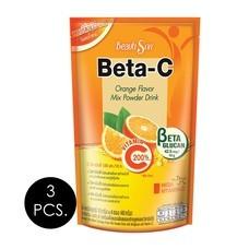 บิวติสริน เบต้า-ซี เครื่องดื่มผงรสส้ม 10 กรัม (4 ซอง/ถุง) แพ็ก 3 ถุง