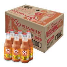 ไวตามิ้ลค์ทูโกชาไทย ขวด นมถั่วเหลือง 300มิลลิลิตร (ขายยกลัง 24 ขวด)
