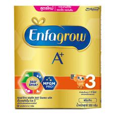 นมผงเอนฟา โกร A+ สูตร 3 รสจืด 550ก.