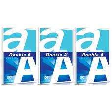 กระดาษ A4 80แกรม(DOUBLE A) แพ็ก3