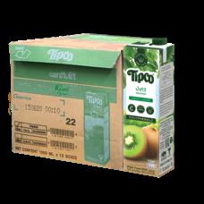 ทิปโก้ น้ำกีวีผสมน้ำองุ่น 100% 1000 มล. (ยกลัง 12 กล่อง)