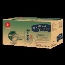โออิชิ โกลด์ คาบูเซฉะ สูตรไม่มีน้ำตาล 400มล. (ยกลัง 24 ขวด)