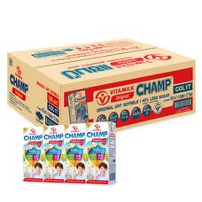 ไวตามิ้ลค์แชมป์ นมถั่วเหลือง UHT 180 มิลลิลิตร (ขายยกลัง 48 กล่อง)