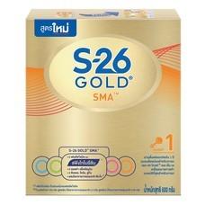 เอส26เอสเอ็มเอโกลด์ นมผงสูตร 1 สำหรับทารกวัยแรกเกิดขึ้นไป 600 ก.