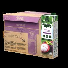 ทิปโก้ น้ำมังคุดผสมน้ำผลไม้รวม 100% 1000 มล. (ยกลัง 12 กล่อง)