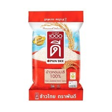 พันดี ข้าวหอมมะลิ 100% 5 กิโลกรัม