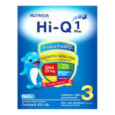 นมผงดูเม็กซ์ไฮคิว1+พรีไบโอเทก สูตร3 รสจืด 600กรัม
