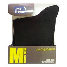 ถุงเท้าธุรกิจชายMyitems 1คู่