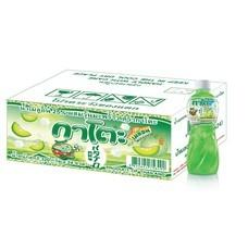 กาโตะ น้ำเมลอนผสมวุ้นมะพร้าว (ยกลัง 24 ขวด)