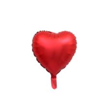 ลูกโป่งฟรอย ลายหัวใจขนาด 45 ซม.แดง