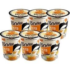 มาม่าโจ๊กคัพ รสไข่เค็ม 45 กรัม แพ็ก 6 ถ้วย