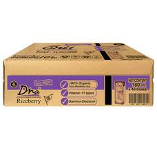 ถั่วเหลืองUHT ดีน่าไรซ์เบอร์รี่   180 มิลลิลิตร  (ขายยกลัง 48กล่อง)