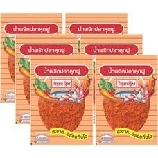 น้ำพริกปลาดุกฟูไทยเดิม 22 กรัม แพ็ก 6
