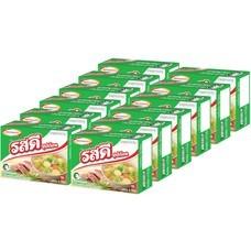 รสดีซุปก้อนหมู  40 กรัม แพ็ก 12