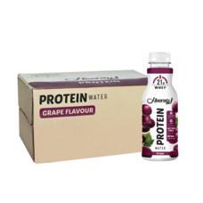 ฮูเร่ เครื่องดื่มเวย์โปรตีน องุ่น 450 มล. (ยกลัง 24 ขวด)