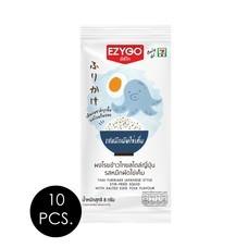 อีซี่โก ผงโรยข้าว รสหมึกผัดไข่เค็ม 8 กรัม (แพ็ก 10 ชิ้น)